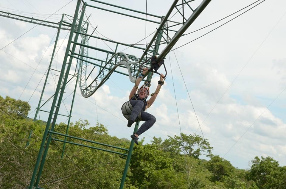 human roller coaster mexico