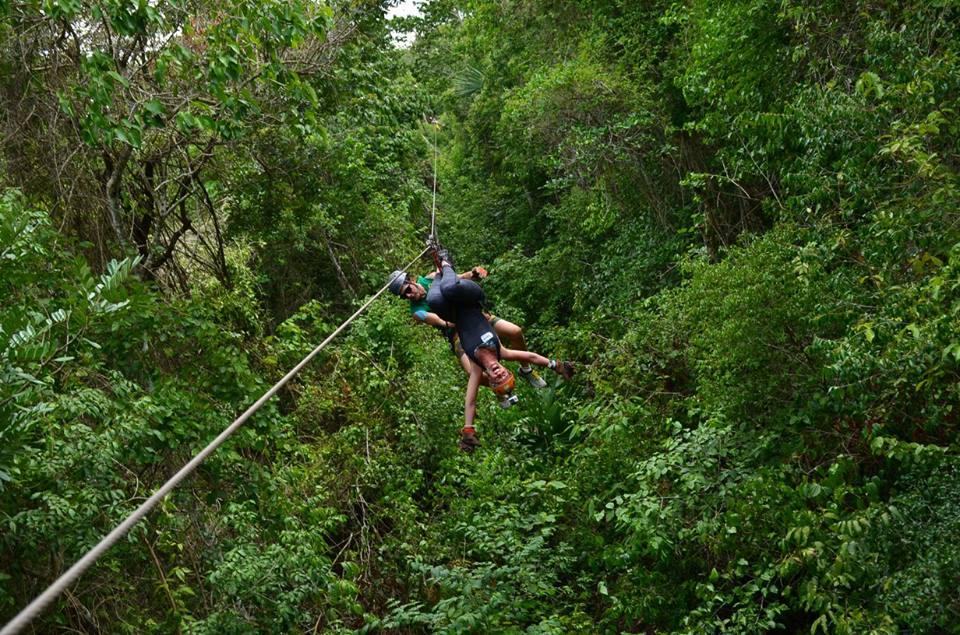 ziplne jungle mexico adventure retreat