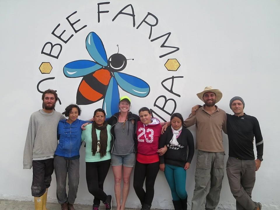 Bee Farm Mural