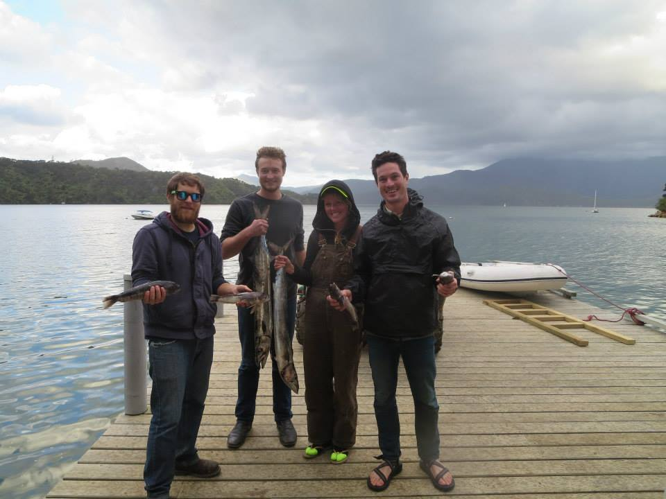 Fishing in NZ