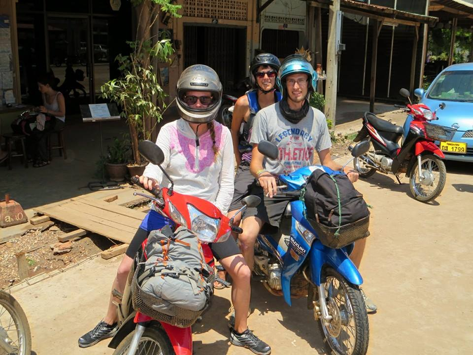 Motorcycle Riding in Laos